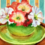 Bowl Of Petunias