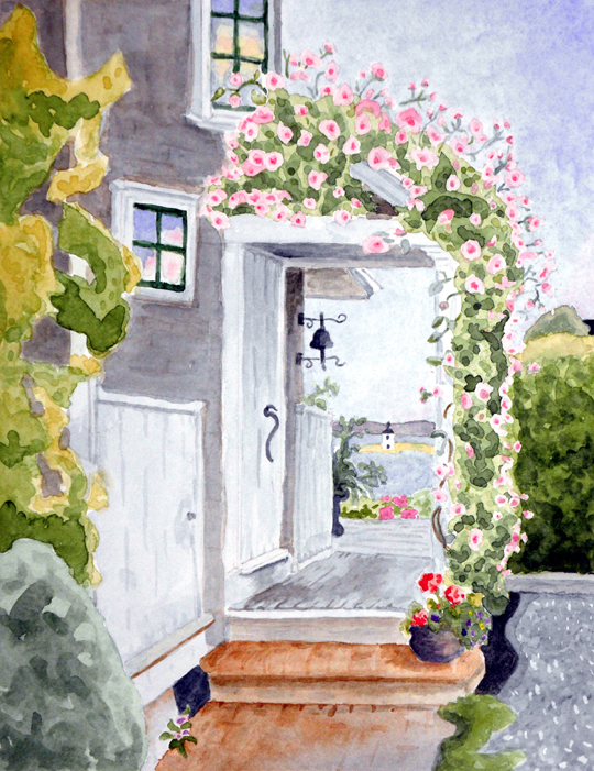 Rose Trellis, Provincetown