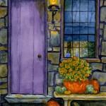 Purple Door & Pumpkins
