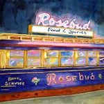 Rosebud Diner, Davis Square, Somerville