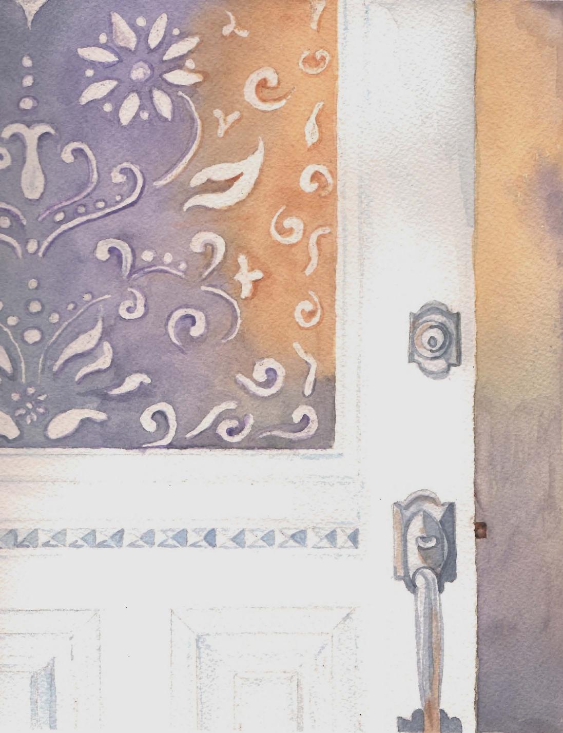 Provincetown Cottage Entrance