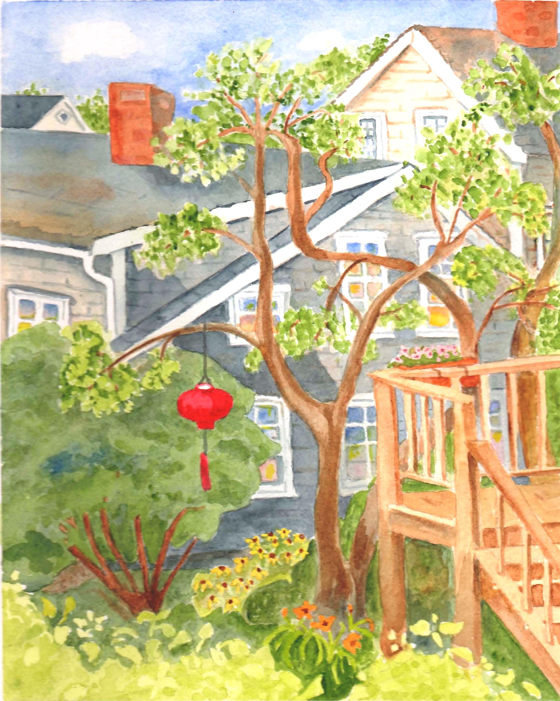 Provincetown Red Lantern